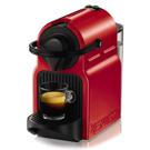 Machine à café Inissia de Nespresso-Rouge