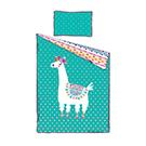 Douillette lit simple et couvre-oreiller