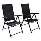 Ensemble de 2 chaises de patio