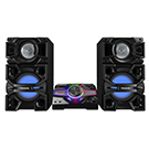 Mini-chaîne Boombox Karaoke Bluetooth USB 2400W