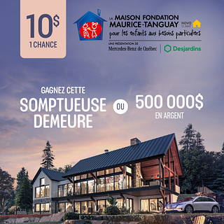 Billet Maison Fondation Maurice Tanguay 2017