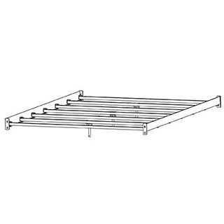 Support de matelas Très grand lit King 78 po ajustable