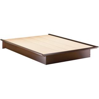 Lit plateforme Grand lit avec moulures