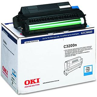 Cartouche de poudre C3400 pour imprimante laser-Cyan