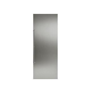 Panneau de porte en acier inoxydable avec poignée pour frigo