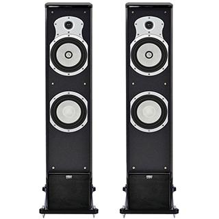 Paire de haut-parleurs de type colonne 2 voies 200 w Série Brighton