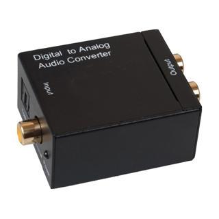 Convertisseur coaxial/optique à analogique RCA