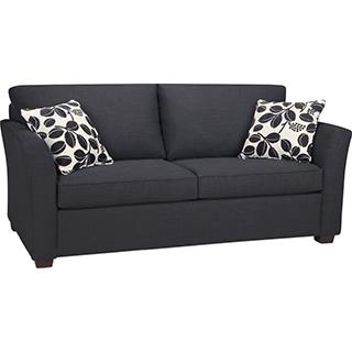 Sofa-lit avec matelas à ressorts Double