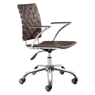 Chaise de bureau avec bras Criss Cross