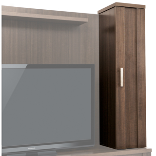 Cabinet de rangement multimédia