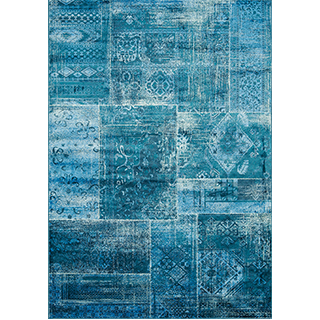 Carpette Antika tissée à la machine (5.7 x 7.10 pi)
