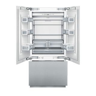 Réfrigérateur à double porte 20pi3 congélateur en bas