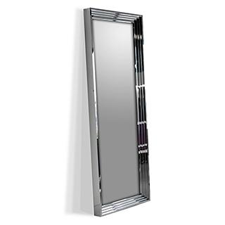 Miroir d'entrée acier inoxydable poli