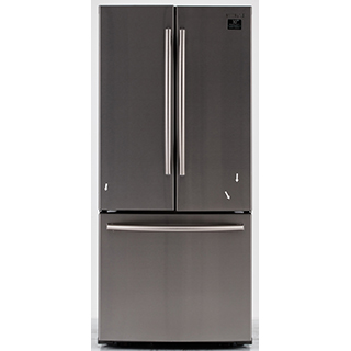 Réfrigérateur à double porte 21.6 pi.cu.