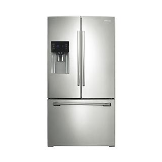 Réfrigérateur à double porte 25.6 pi3