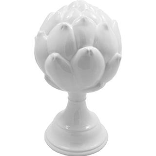Petit artichaut céramique blanche