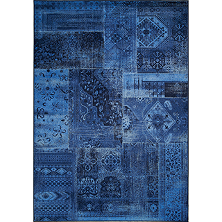 Carpette Antika tissée à la machine (5.3 x 7.7 pi)
