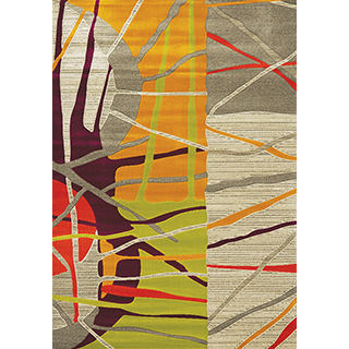 Carpette « Topaz » tissée à la machine (5.3x7.7pi)