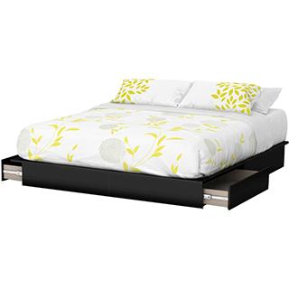 lit et plateforme meubles de chambre coucher tanguay. Black Bedroom Furniture Sets. Home Design Ideas