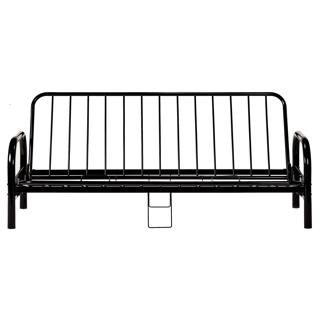Base de futon en métal noir