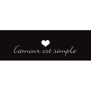 Toile l'amour est simple