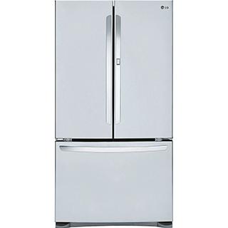Réfrigérateur à double porte 24.8 pi3