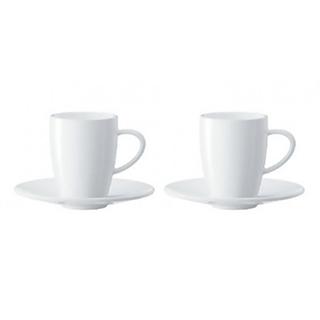 2 tasses porcelaine Espresso