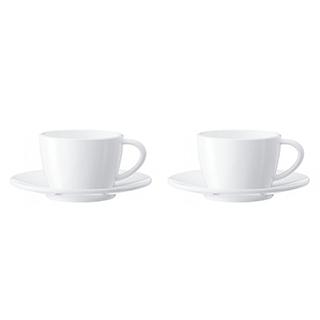 2 tasses porcelaine Cappuccino