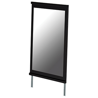 Miroir de commode - Noir