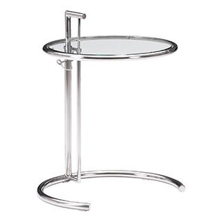 Table d'appoint hauteur ajustable