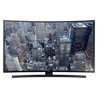 Téléviseur UHD incurvé 4K Ultra HD Smart TV écran 55 po