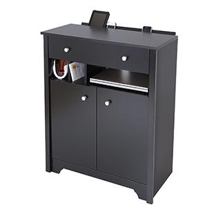 Cabinet de rangement multimédia avec station de recharge