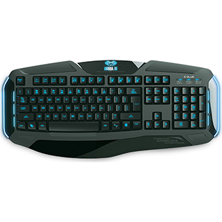 Clavier E-Blue Cobra II Gaming avec 3 modes couleur