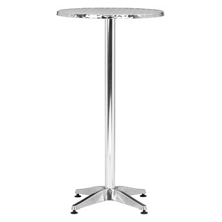 Table de bar Christabel en aluminium