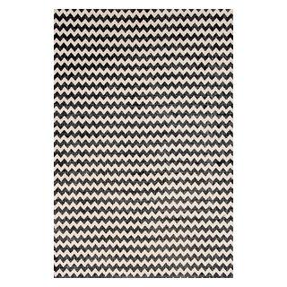 Carpette « Zig Zag » tissée à la machine (3 x 5 pi)
