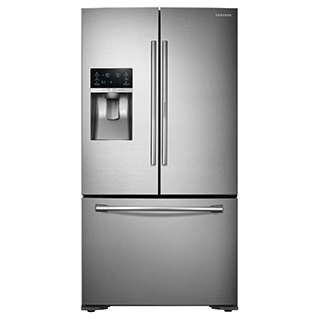 Réfrigérateur à double porte 22.5 pi.cu.