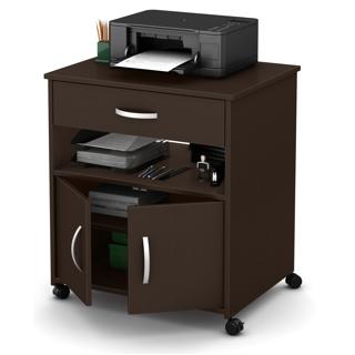 Meuble de rangement sur roues pour imprimante
