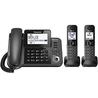 2 téléphones sans fil Dect6 avec afficheur et répondeur