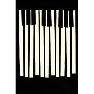 Toile Notes de piano