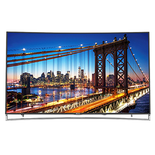 Téléviseur incurvé DEL 4K Ultra HD 3D Smart TV 65 po