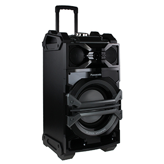 Enceinte nomade BoomBox 1000W Karaoke 2USB Bluetooth