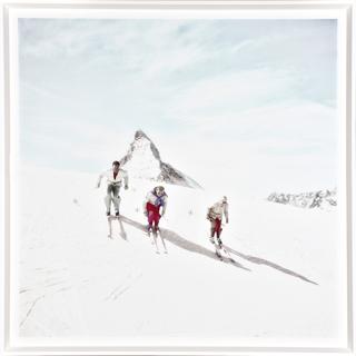 Cadre Vintage Trio de ski