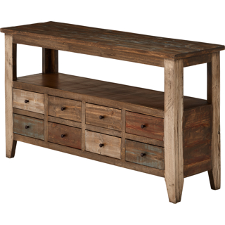 Table console 8 tiroirs