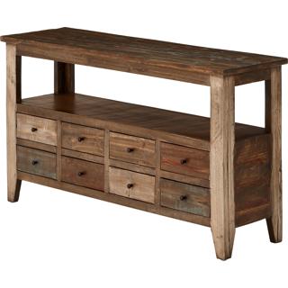 Table sofa 8 tiroirs