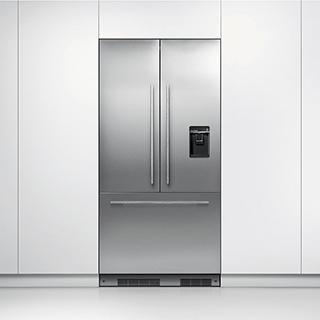 Réfrigérateur à double porte 16.8 pi3 à recouvrir
