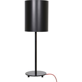 Lampe de table métal noir mat