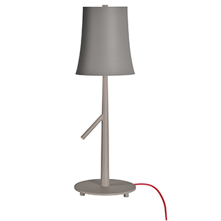 Lampe de table grise