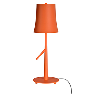 Lampe de table orange