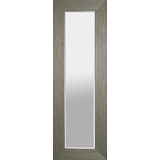 Miroir avec cadre de pin gris