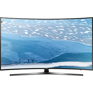 Téléviseur incurvé DEL 4K Ultra HD Smart TV 55 po